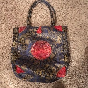 Oriental tote bag from Japan. New condition